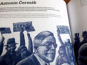 Photo: repro, Renáta Fučíková, 'Historie Čechů v USA' / Práh