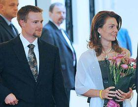 Matt Emmons and Kateřina Emmons, photo: CTK
