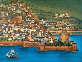 Tesalónica en Alta Edad Media