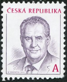 Photo: Miloš Zeman, photo: Archives du Museé de poste