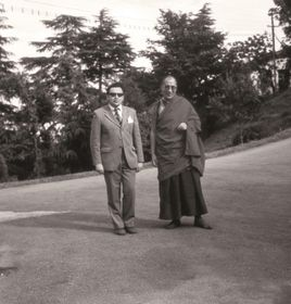 Miloslav Stingl sdalajlámou, foto: archiv Miloslava Stingla