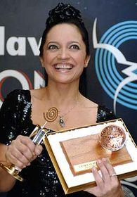 Lucie Bílá,  ganadora del concurso Ruiseñor Checo (Foto: CTK)