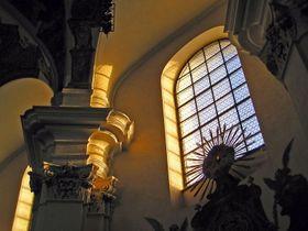 Интерьер базилики св. Маркеты, Фото: Мирослав Швец, Чешское радио