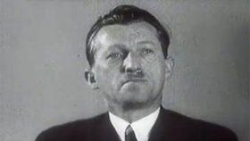 Wenzel Jaksch, photo: Czech Television
