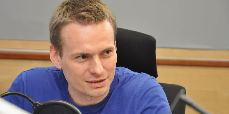 Ondřej Houska, photo: Marián Vojtek / Czech Radio
