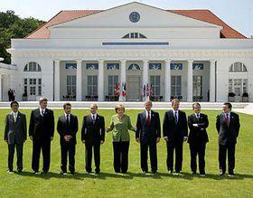 Grupo G8 en Heiligendamm (Foto: CTK)