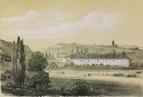 L'hôtel des Invalides en 1845 par Ludwig Förster, source: public domain