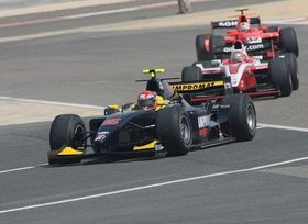 Josef Král en el GP de Bahrein, foto: www.josefkral.cz