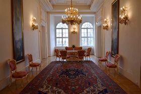 Interiér Pražského hradu, foto: Ondřej Tomšů