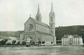 Kirche St. Kyrill und Method in Karlín