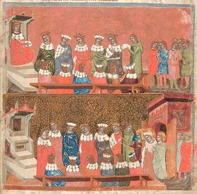 Frédéric l'Oiseleur et Saint Venceslas, La chronique de Dalimil