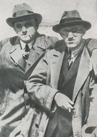 Владимир Маяковский и Йозеф Гора, Фото: издательство «Мир Советов»