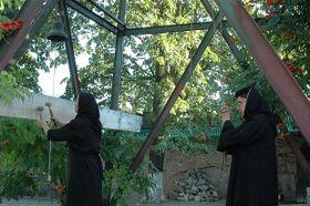 Монашки в монастыре Говора (Фото: Яна Шустова)