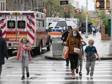 Současná situace v New Yorku, foto: ČTK / AP Photo / Mark Lennihan