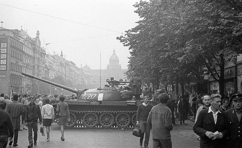 Août 1968, photo: Archives de Post Bellum