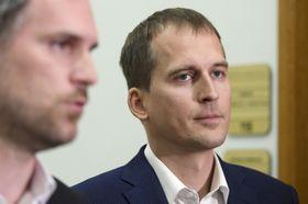 Zdeněk Hřib y Jan Čižinský, foto: ČTK/Deml Ondřej