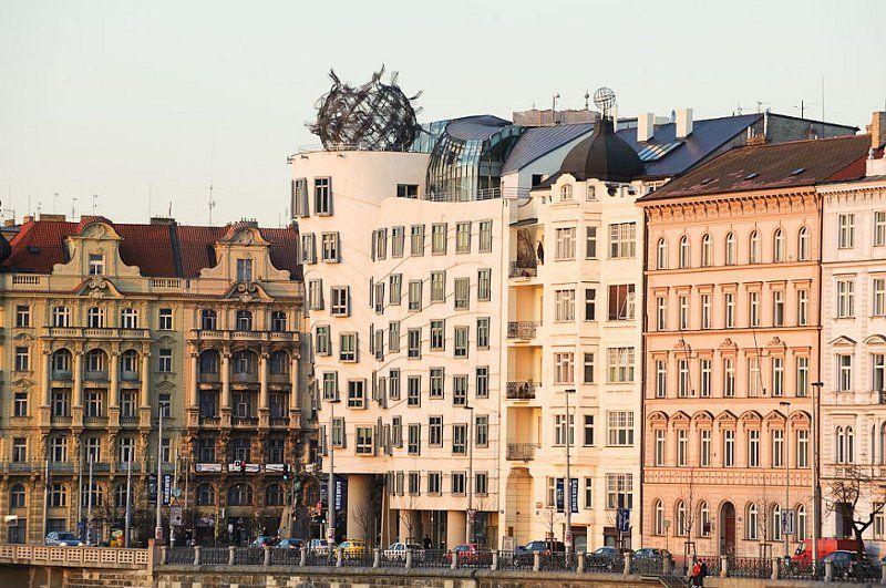 Tančící dům, photo: Khalil Baalbaki, ČRo