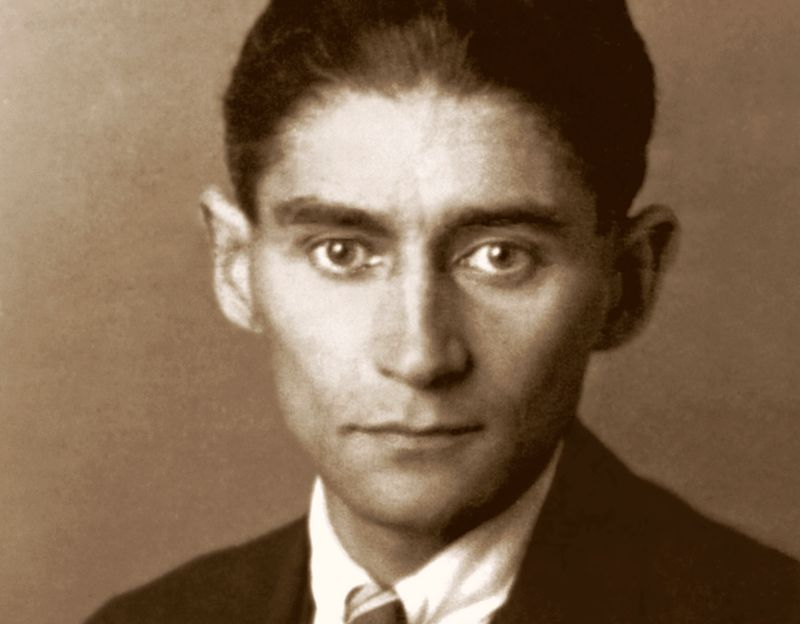 Franz Kafka, photo: public domain