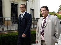 Miroslav Kalousek et Jiri Paroubek, photo: CTK