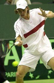 Tomáš Berdych prohrál sFelicianem Lopezem 4:6, 7:6, 3:6 a2:6, foto: ČTK