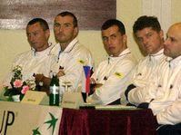 L'équipe tchèque de tennis, photo: CTK
