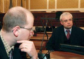 Bohuslav Sobotka y Vladimir Spidla, foto: CTK