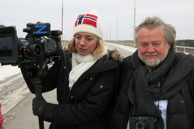 Andrea Sedláčková et Antonín Kratochvíl, photo: ČT24