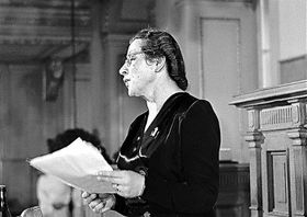 Milada Horáková, photo: National Film Archive in Prague