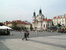 La plaza de Staromestska