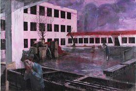Josef Bolf - 'School Atrium II', photo: Jan Freiberg