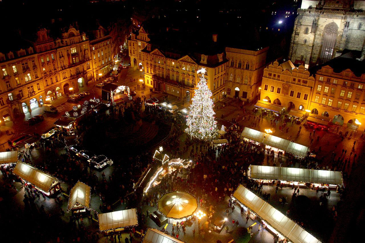 Prague Christmas Market.Prague Christmas Markets Expected To Attract Thousands Of