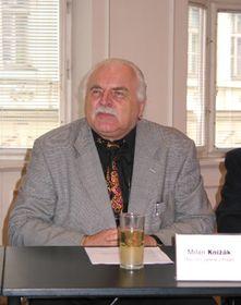 Director de la Galería Nacional, Milan Knízák, foto: autora