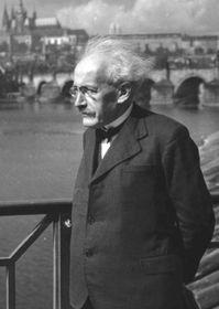 Zdeněk Nejedlý en 1938, photo: Archives de ČRo
