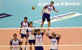 La selección checa de voleibol cayó ante Rusia, foto: ČTK