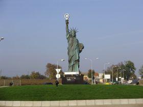 Копия статуи Свободы, фото: Pernak1, CC-BY-SA-2.5