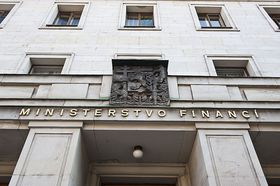 Министерство финансов, Фото: Филип Яндоурек, Чешское радио