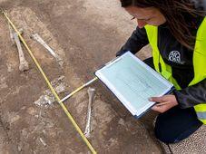 Umgehung Domašín: Archäologen sind auf frühzeitliche Funde gestoßen (Foto: ČTK / David Taneček)