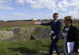 Andrej Babiš vLetňanech, foto: ČTK/Michal Krumphanzl