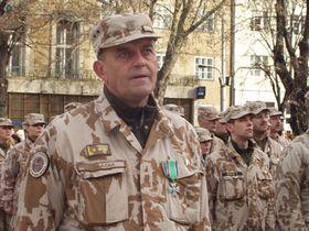 Plukovník Přemysl Škácha, foto: autor