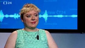 Ilona Švihlíková, photo: ČT24
