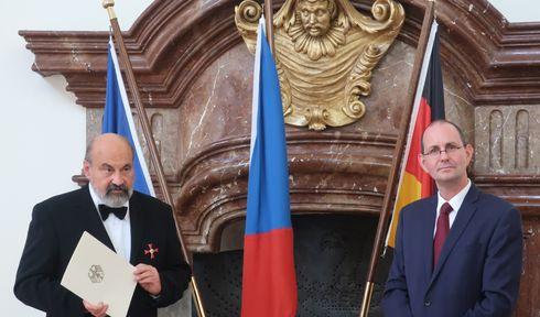 Tomáš Halík und Christoph Israng (Foto: Martina Schneibergová)