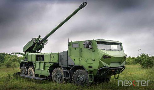 Le canon automoteur CAESAR, photo: Nexter