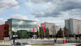 Universidad de Bohemia del Sur enla ciudad de České Budějovice, foto: Carlos Ferrer
