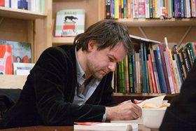Yannick Haenel, photo: www.livres-coeurs.fr
