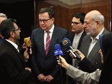 Jan Mládek à Téhéran, photo: Ministère de l'Industrie et du Commerce