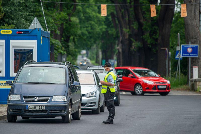 Grenzübergang in Hrádek na Nisou (Foto: ČTK / Radek Petrášek)