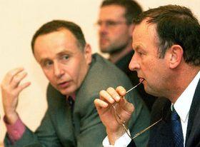 Ministr obrany Miroslav Kostelka (vpravo), foto: ČTK