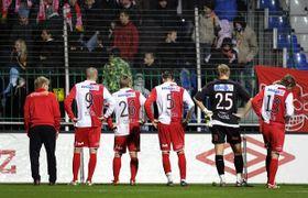 Le grande surprise cet automne est la décevante 14e place du Slavia Prague, photo: CTK
