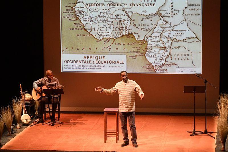 'Le Fabuleux Destin d'Amadou Hampâté Bâ', photo: Site officiel du festival Afrique en création