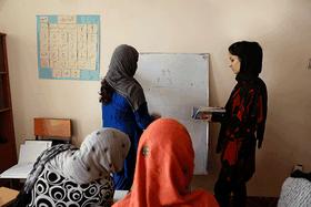 Photo: Site officiel de Women for Afghan Women